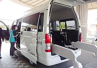 福祉施設へ福祉車両の寄贈